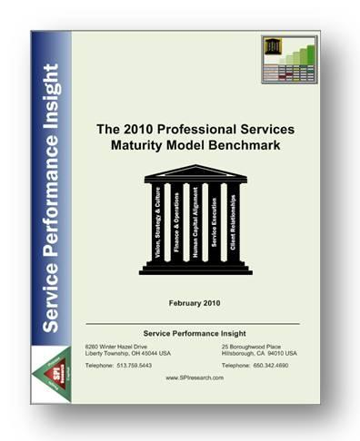 The State of Professional Services 2010