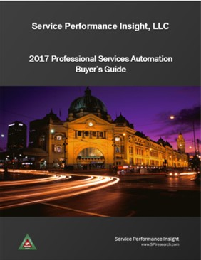 2014 Professional Services Automation Buyer's Guide