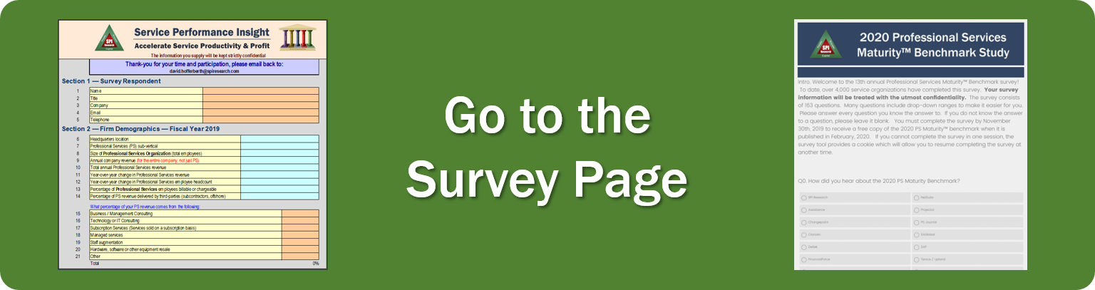Go to the 2020 PS Maturity Survey Page